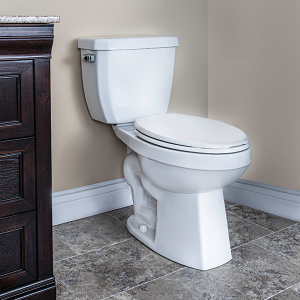Crista Two Piece Toilet Elongated Plus Height Bowl