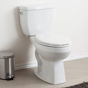 Suto Two Piece Toilet Compact Elongated Plus Height Bowl