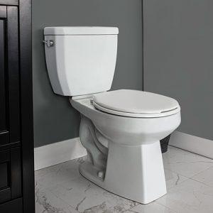 Keaton Two Piece Toilet Round Front Bowl
